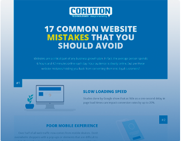 17 Common Website Mistakes That You Should Avoid
