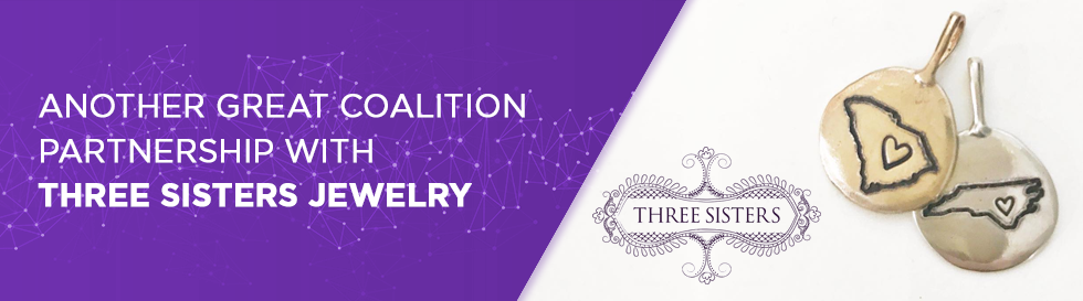Another Great Coalition Partnership With Three Sisters Jewelry