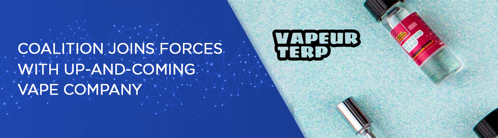 Coalition Joins Forces With Up-and-Coming Vape Company