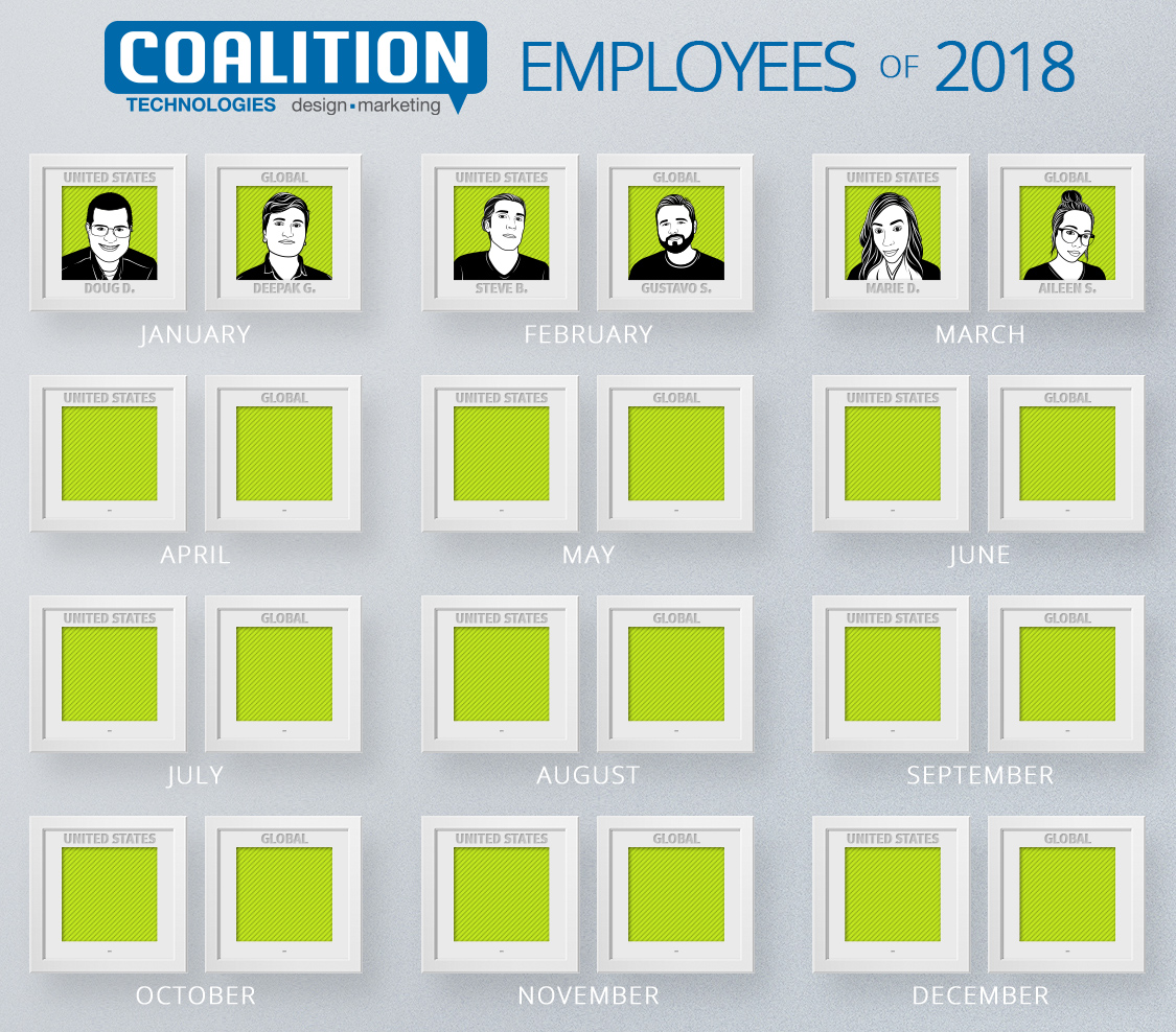 Employees of the year - March 2018