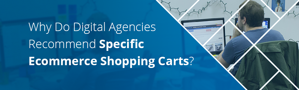 Why Do Digital Agencies Recommend Specific Ecommerce Shopping Carts?